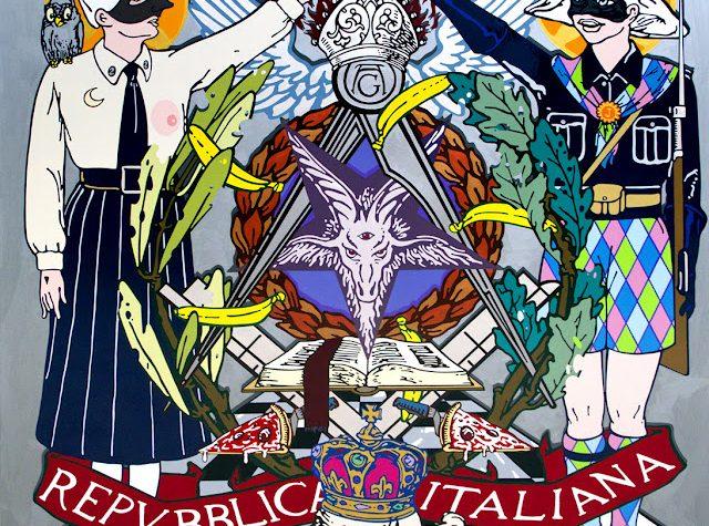 IL marchese del GRillo provocato si confida dar monno de li morti dopo la breve storia di loggia Italia in romanesco