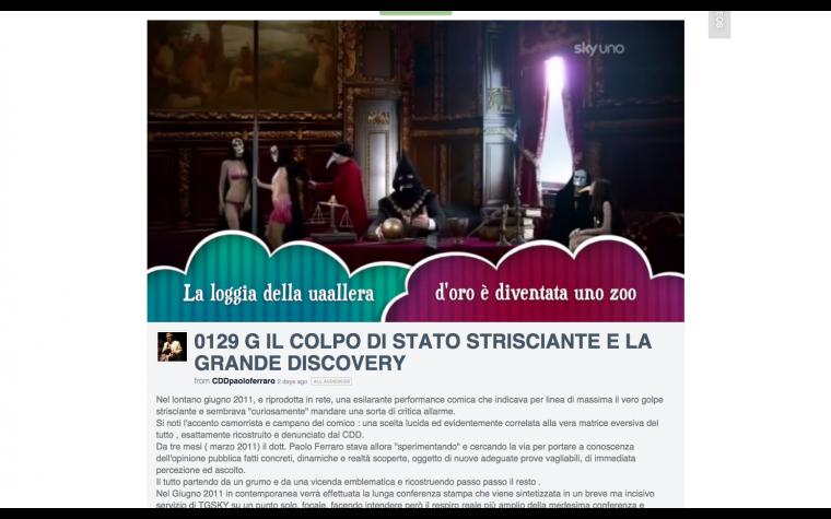 IL COLPO DI STATO STRISCIANTE E LA GRANDEDISCOVERY