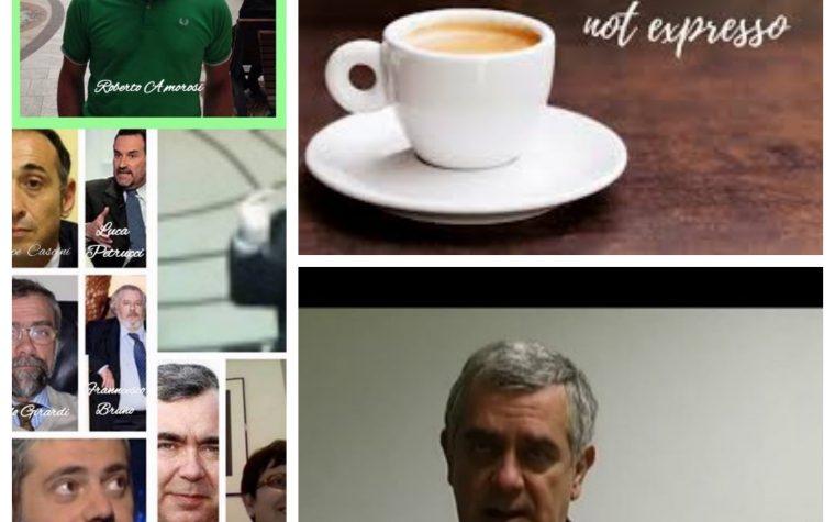 """Questo  caffè non  è  """"L'ESPRESSO"""" da bersi  ma soprattutto occhio ai fondi … è stantio e rancido."""